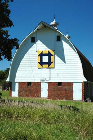 Hole in the Barn Door | Barn quilts, Barn quilt designs ...