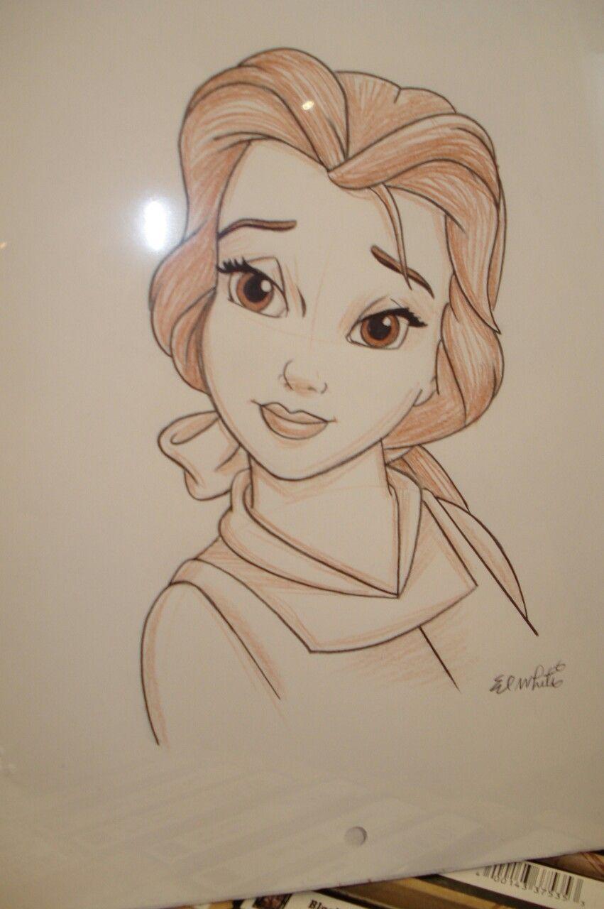 Belle Illustrazioni Disegni Disney