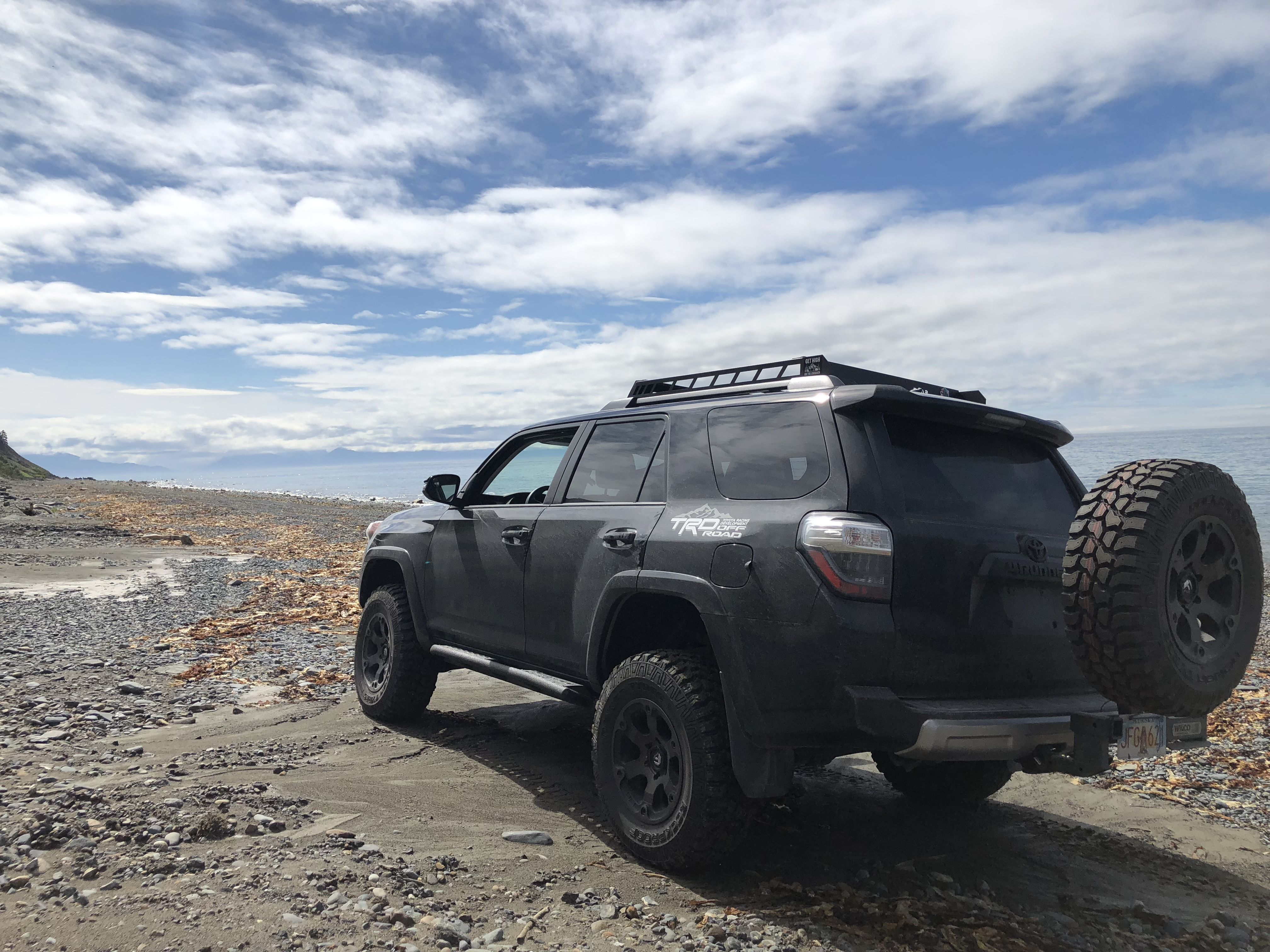 Sporting The Finest In Outdoor Adventure Gear N Fab Roof Rack Cbi Front Bumper Icon Suspension C4 Fab Sliders Roof Rack 4runner Outdoor Adventure Gear