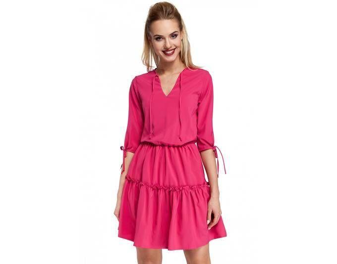 Pin von ladendirekt auf Kleider   Pinterest   boho Kleid, Rüschen und  Himbeeren f836f4c9fa