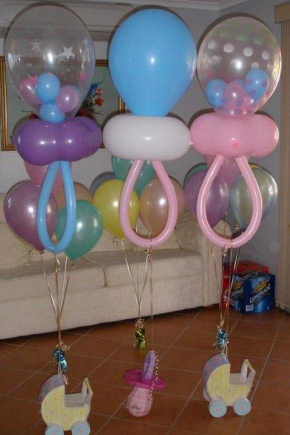 Decoracion De Baby Shower Con Globos Decorar Y Mas Globos