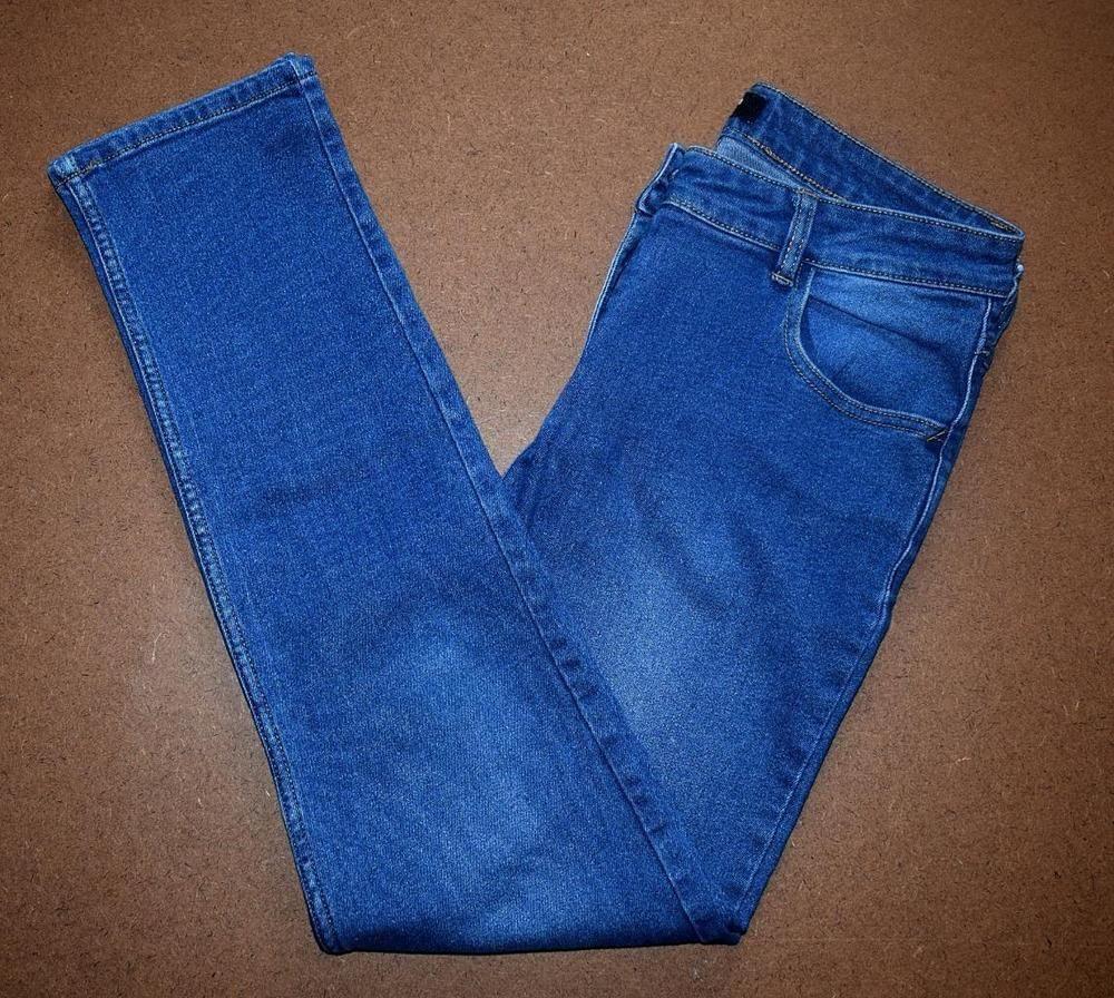 683c20cfe50 MATALAN PAPAYA DENIM Womens High Rise Stretch Jeans Size 12 Blue W32/34 L29