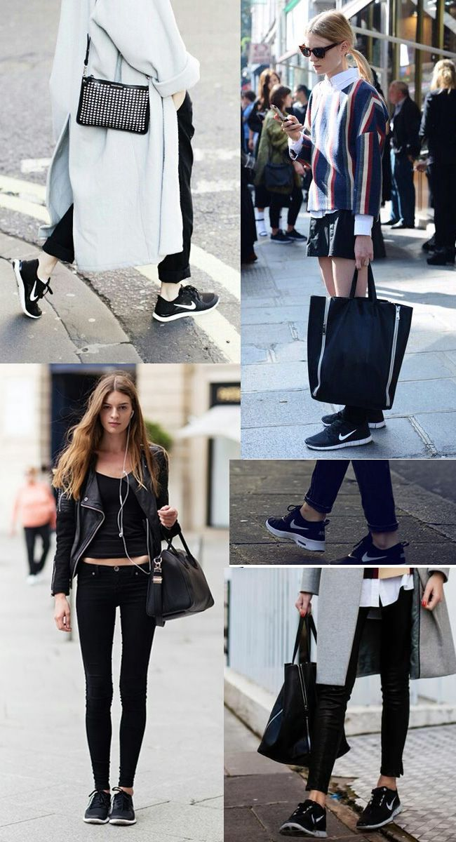 Nike Free Run 5 Des Femmes De Pantalons À Carreaux Rouge Noir Et Blanc De Style