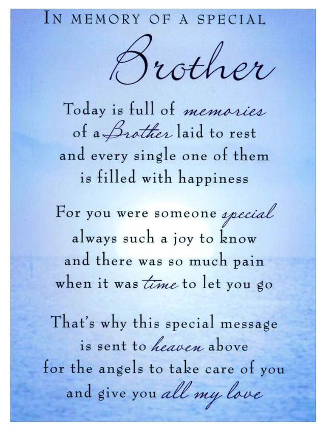 Birthday Wishes Brother In Law Quotes Brother Quotes My Brother