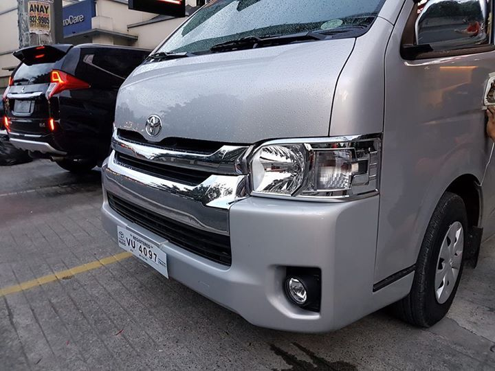 Charming Outdoor Store · Hiace Grandia V2 Chrome Head And Taillamp Covers 3,500 Set  Spoiler Silver 8,000 Installation Included