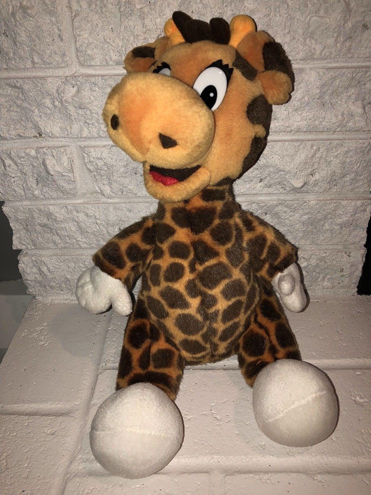 16 Vintage 2001 Geoffrey Giraffe Stuffed Animal Ny Square Plush