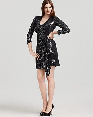 David Meister Plus Studio 54 Dress | Bloomingdale\'s, wearing a LBD ...