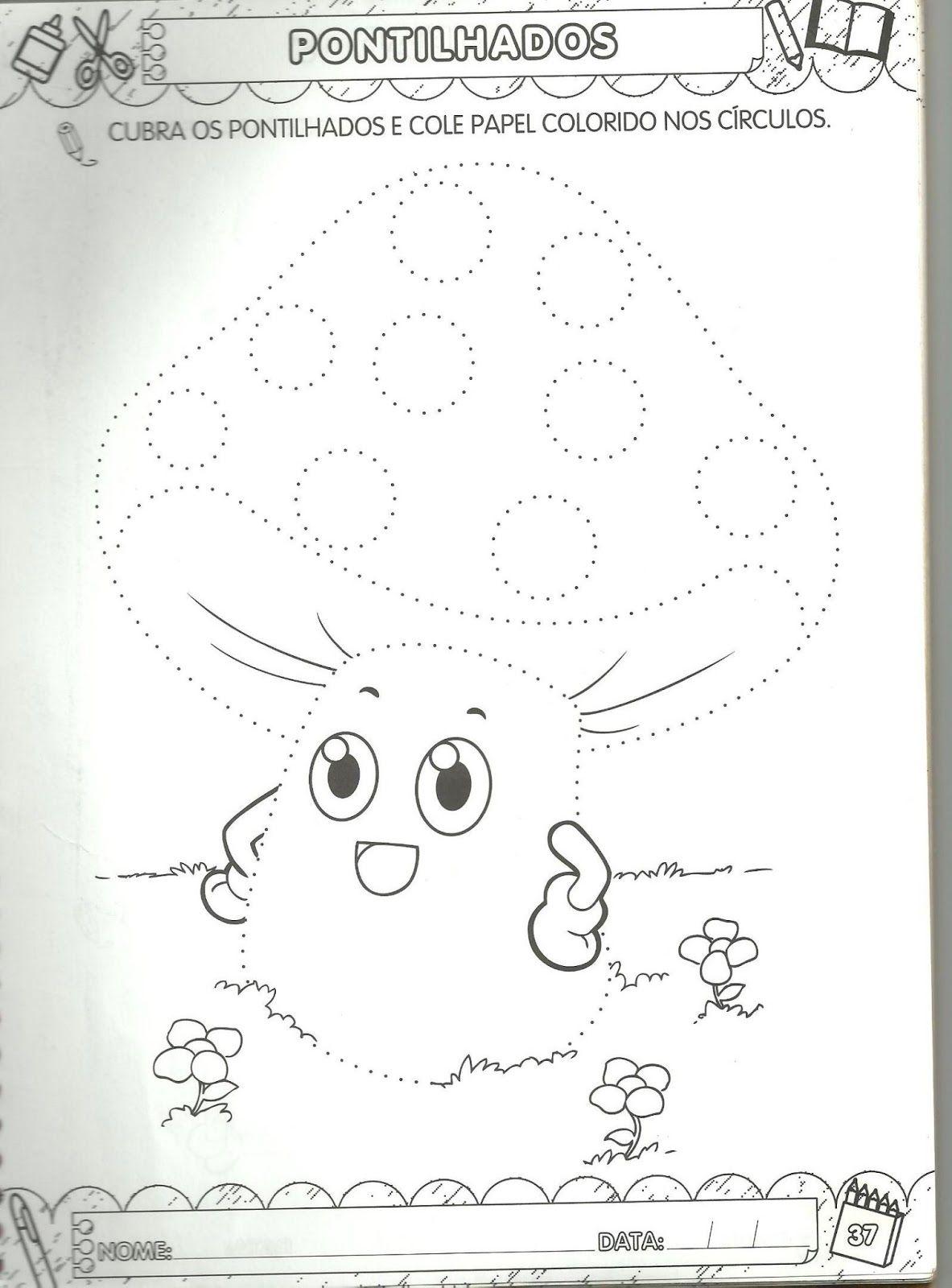 Arte De Educar Pontilhados Para Maternal Com Imagens
