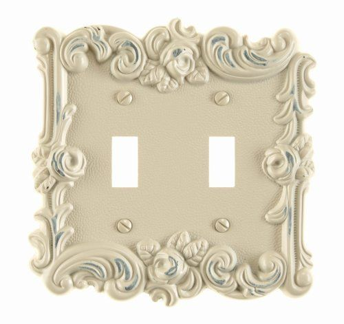 Toggle Wallplate Antique White