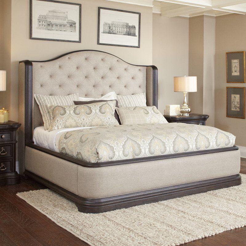 Canora Grey Ikin Upholstered Panel Bed Wayfair