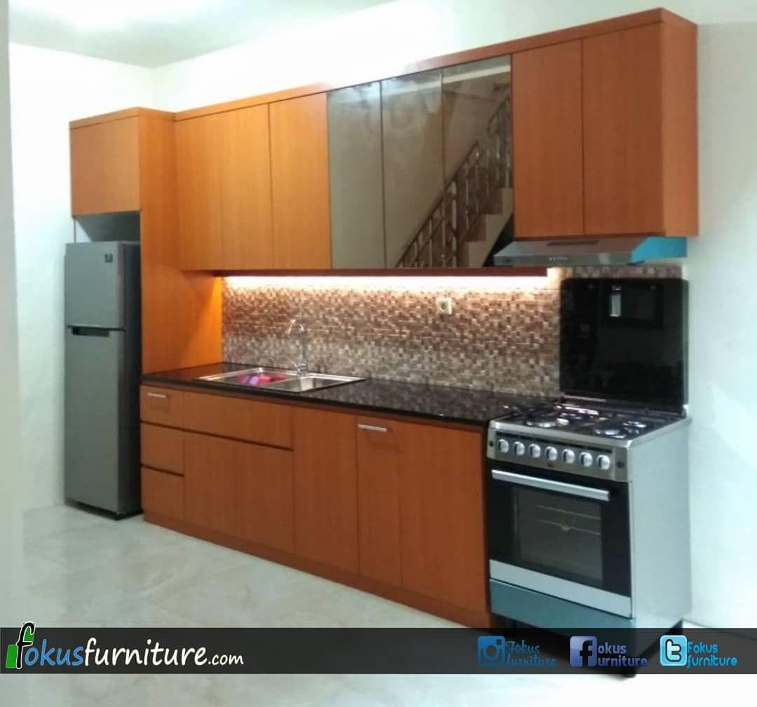 Kitchen Set Lemari Dll Di Instagram Kitchen Set Lurus Villa
