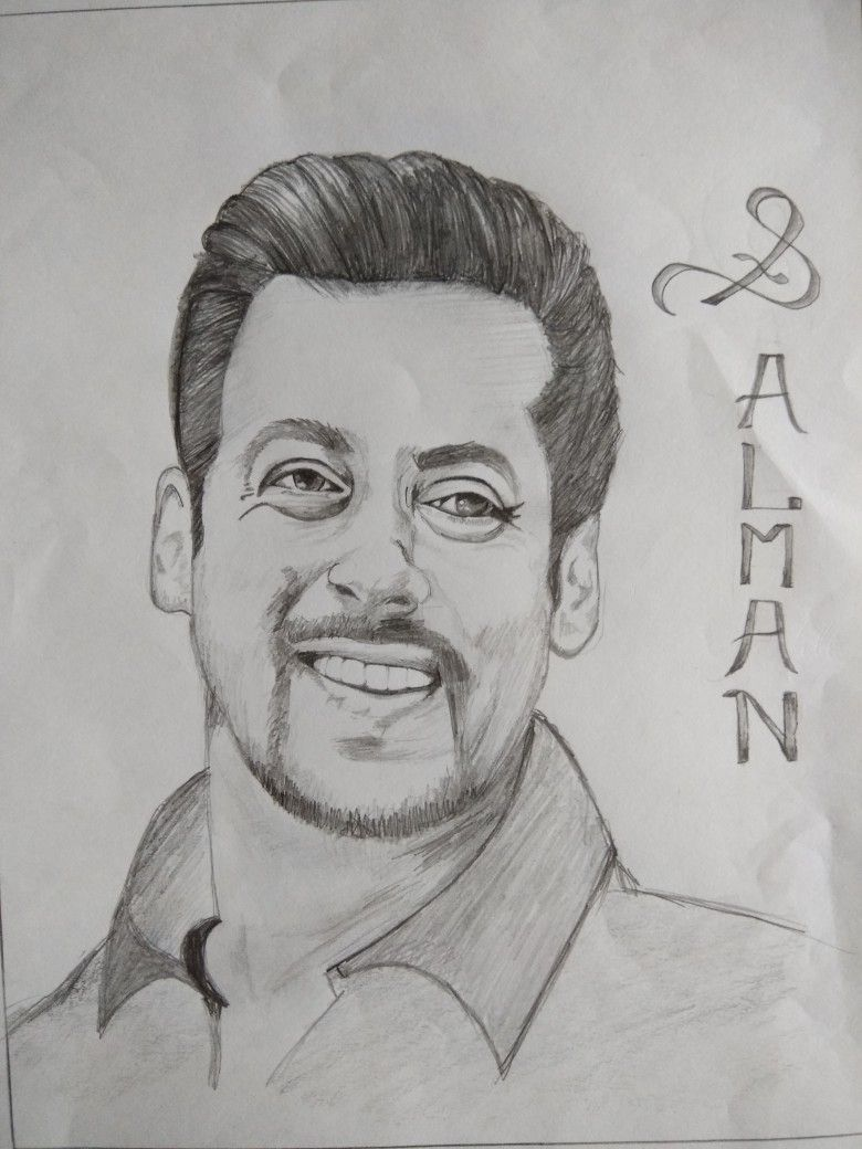 Salman khan sketch