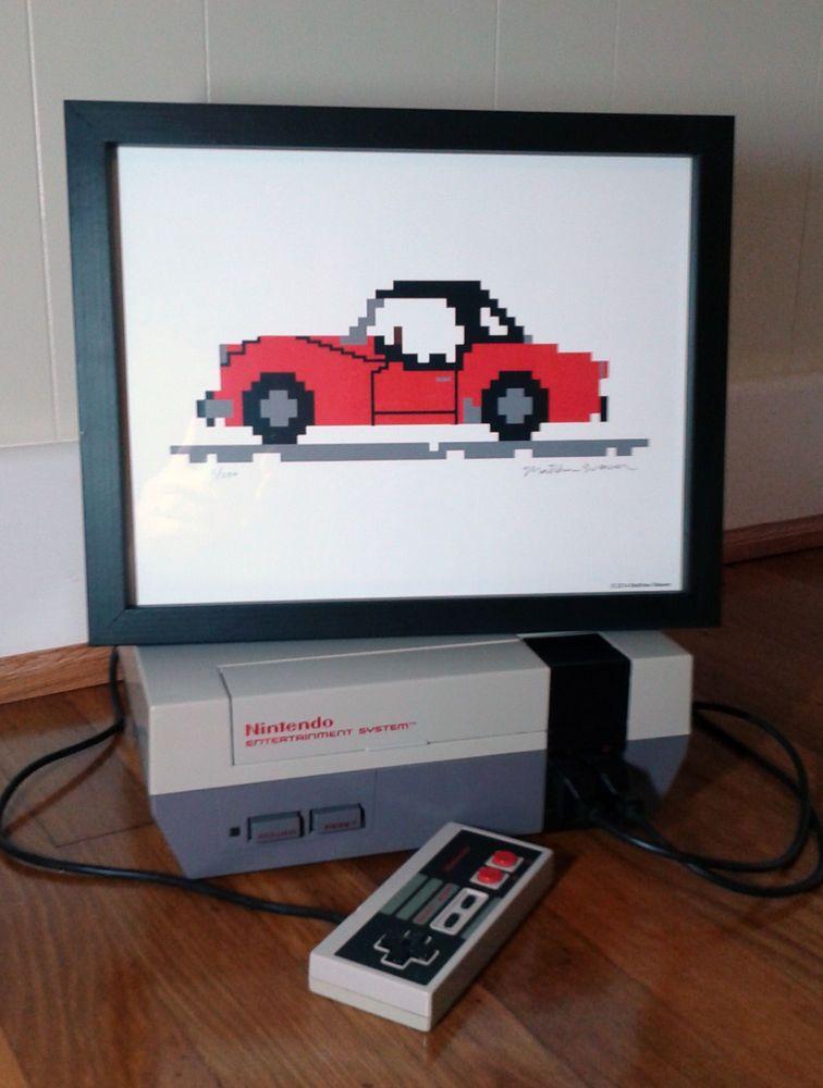 Triumph TR3 8-Bit Digital Print
