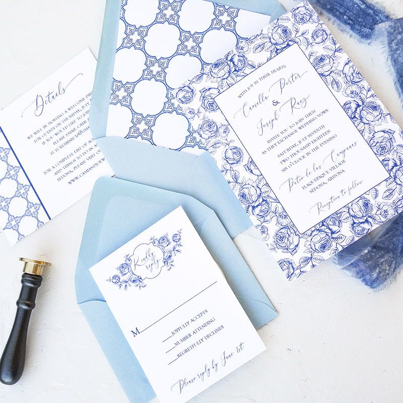 Spanish Themed Wedding Invitations Are A Perennial Favorite This