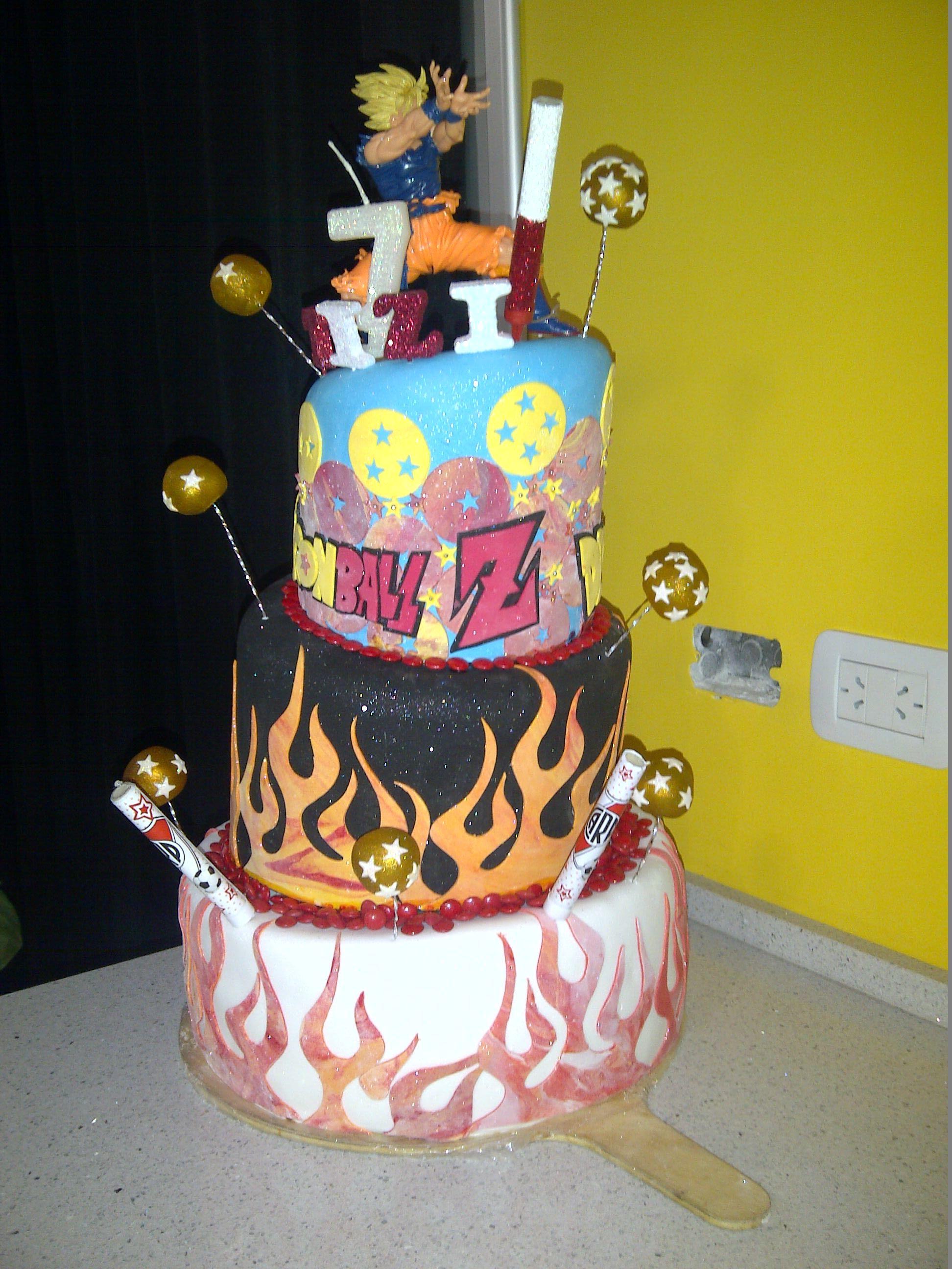 Cake Dragon Ball Z Mis Pasteles Pinterest Dragon Ball And Cake