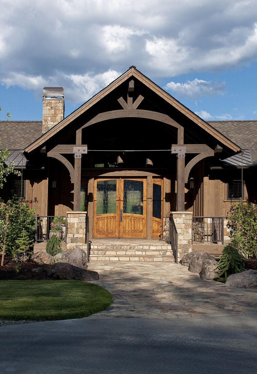 Old Keystone Ranch Western Design Intl Ranch House Exterior Ranch Style House Plans Ranch Style Homes