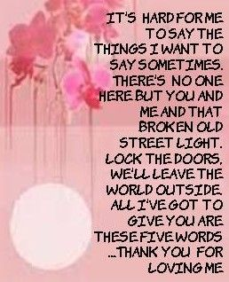 Pin By Trudy Gilbert On Song Lyrics I Love Thank You For Loving Me Music Quotes Lyrics Bon Jovi