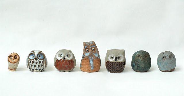 Little Ceramic Owl