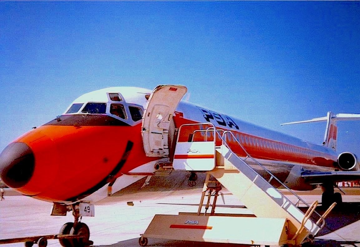Pin by Den14 on PSA (Pacific Southwest Airlines