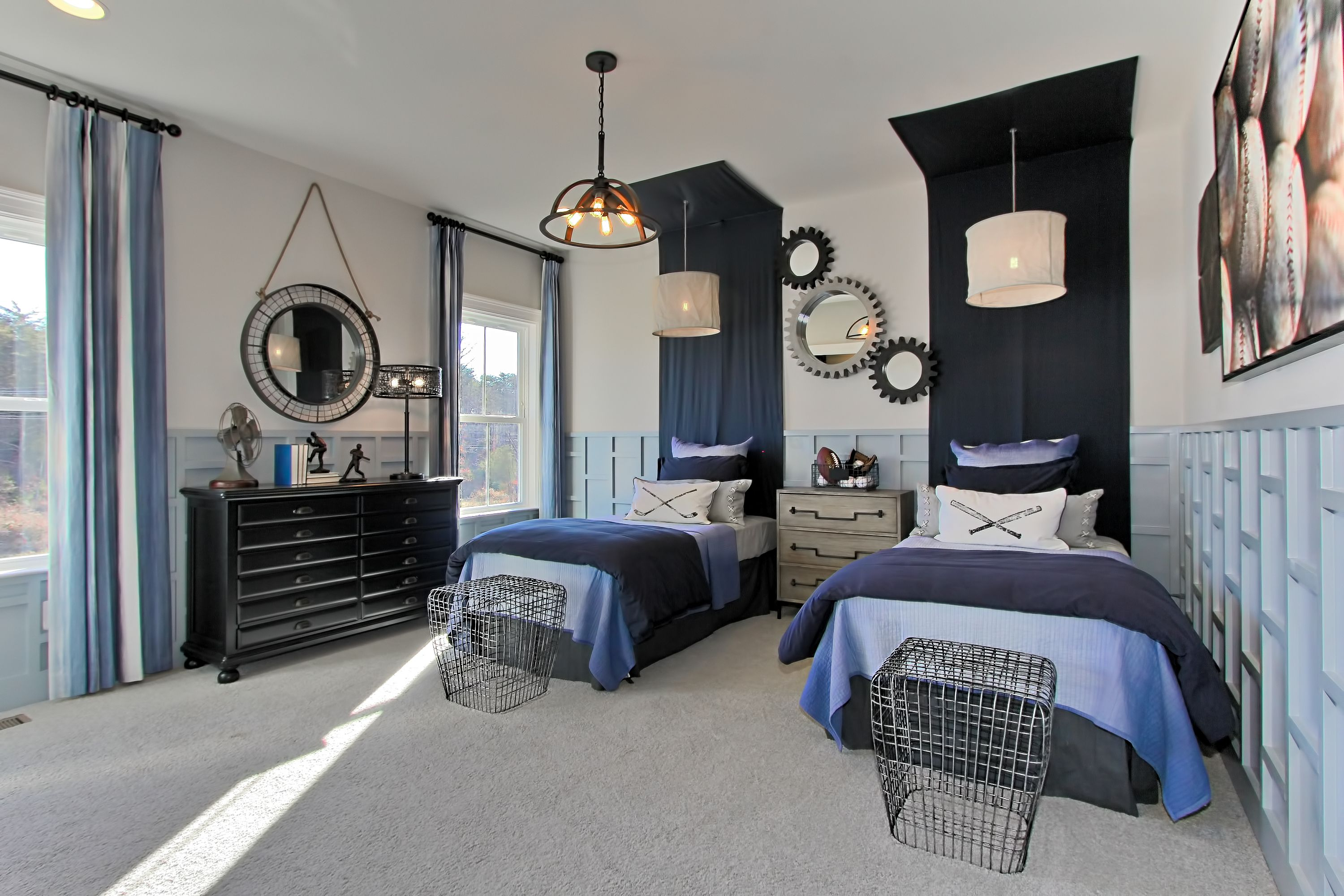 The Headboards Really Make A Statement French Home Decor Home