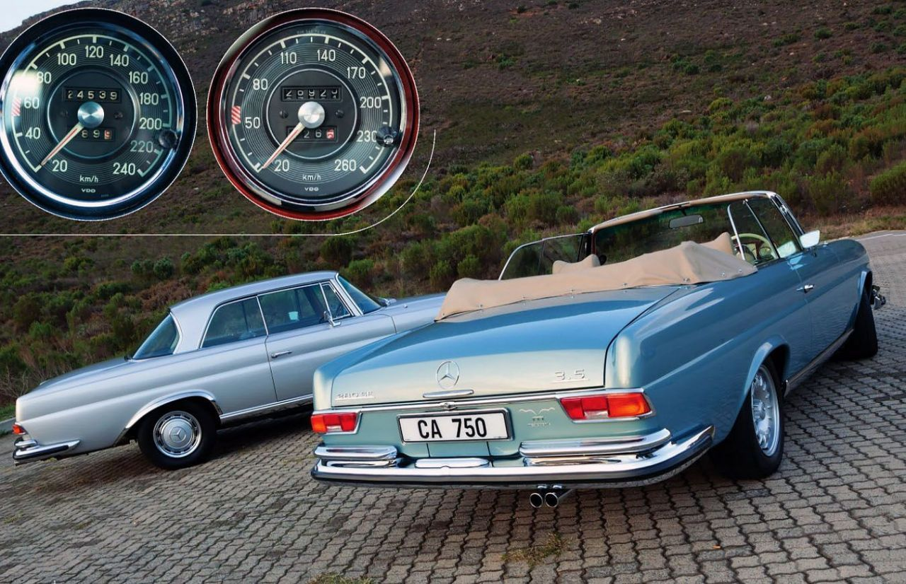 Seeing the light – classic choice #Mercedes-Benz-W111 Coupe and Cabriolet  V8s #Mechatronik-W111 Both leaving the factory with Mercedes 3.5-litre  #M116 V8 ...