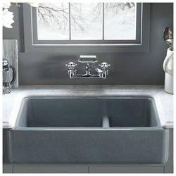 """Kohler Whitehaven 36"""" Double Farmhouse Kitchen Sink"""