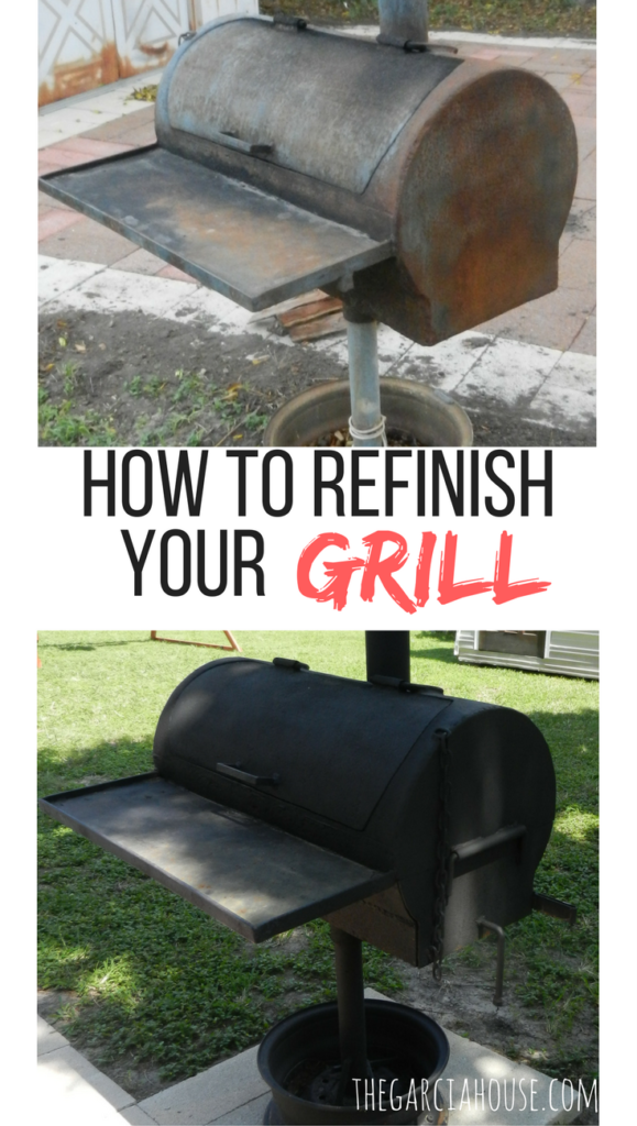 Iron Grill Refresh: How To Refinish Your Grill