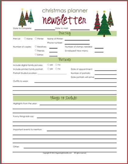 Christmas Freebies Christmas Planning Guides  Gift Trackers