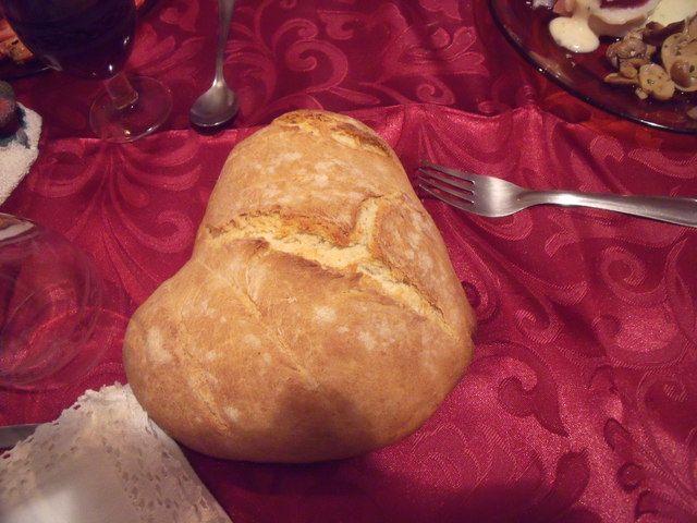 Pan corazón. Ver la receta http://www.mis-recetas.org/recetas/show/40109-pan-corazon