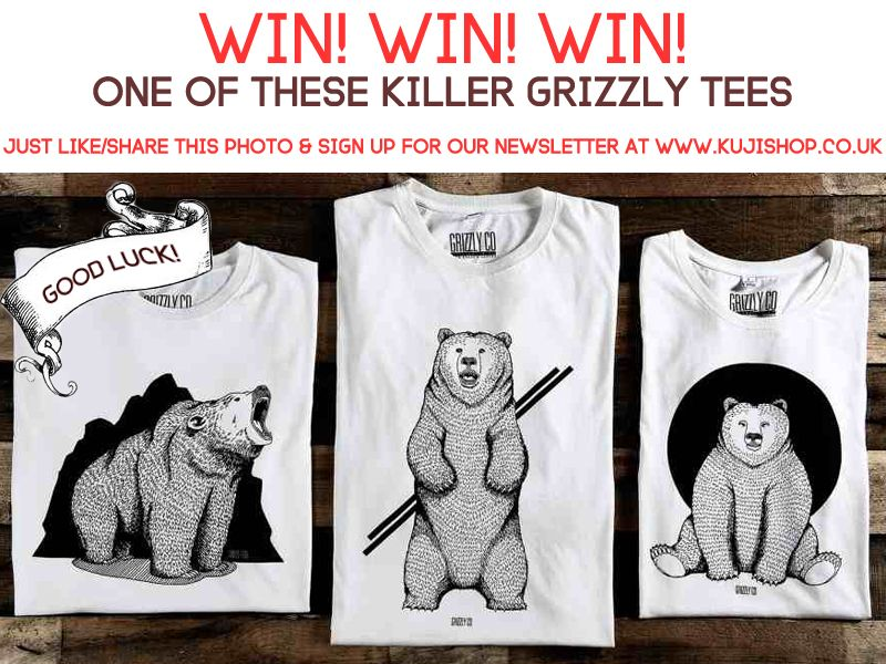 win a Grizzly Co t-shirt
