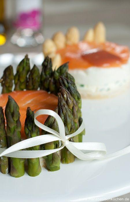 Terrine D'Asperges (Spargelterrine) Fisch Hauptspeisen Rezepte