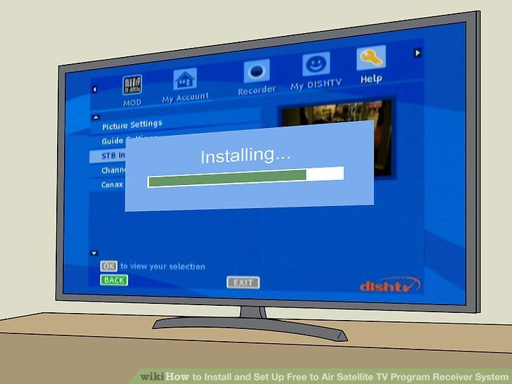 How to Install and Set Up Free to Air Satellite TV Program ...