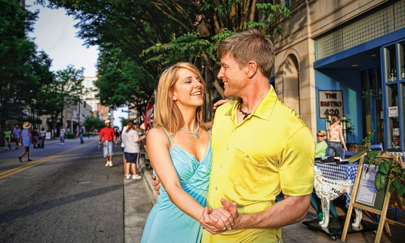 romantic things to do in winston salem nc