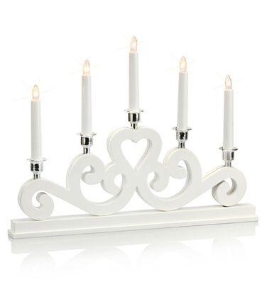 Eneby-kynttelikkö, valkoinen