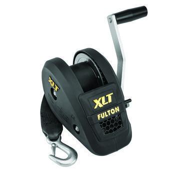 142311 Fulton Single Speed Trailer Winch 1 500 Lb Capacity In 2020 Fulton Black Cover Winch