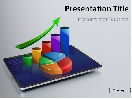 Excellent FREE PowerPoint template that will perfectly fit - financial data analysis