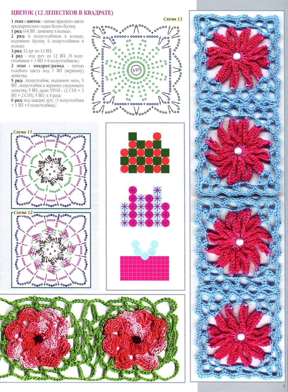 Pin de Durley Guerrero en croche | Pinterest | Cuadros con flores ...