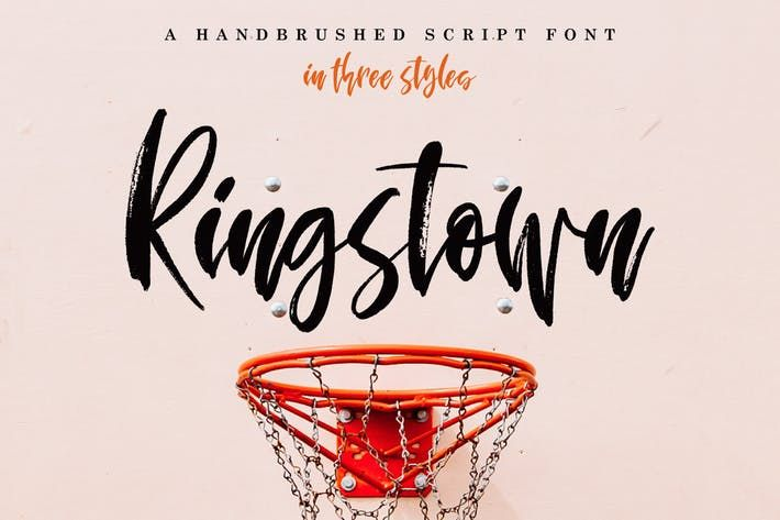 Download Ringstown Font Pack #paint #wet Download : http://1.envato ...