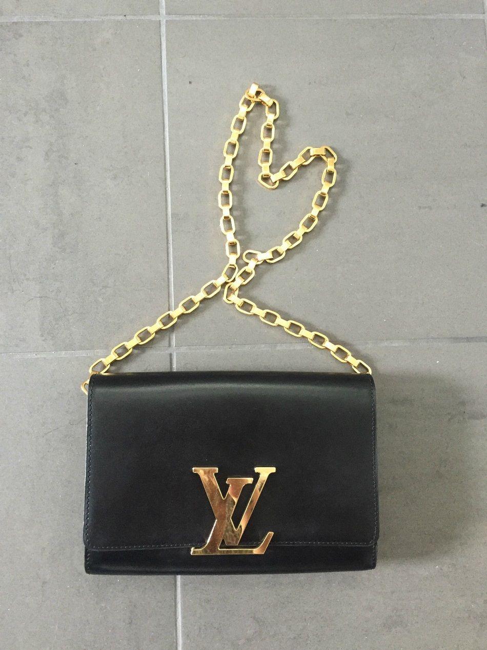 9c7914187b99 Louis Vuitton Replica Chain Louise Bag