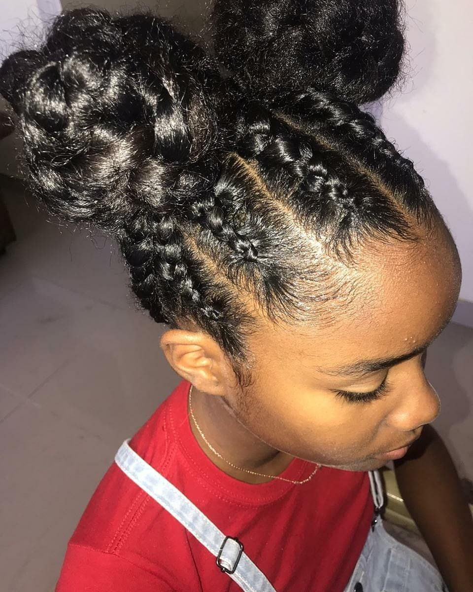 Braided Bun Hairstyles A Guide To Perfection Curly Craze In 2020 Bun Hairstyles Hair Styles Braided Bun Hairstyles