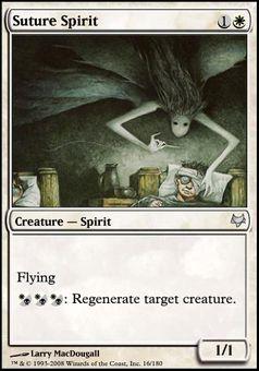 Suture Spirit - Creature - Spirit - Sun - White - Eventide - Magic The Gathering Trading Card