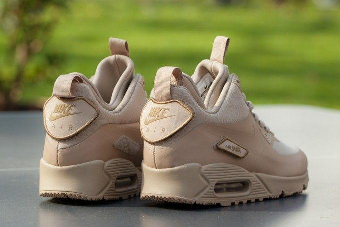 online store bc88f 369fb ... authentic nike air max 90 sneakerboot sp patch tan b2e1f e4b93