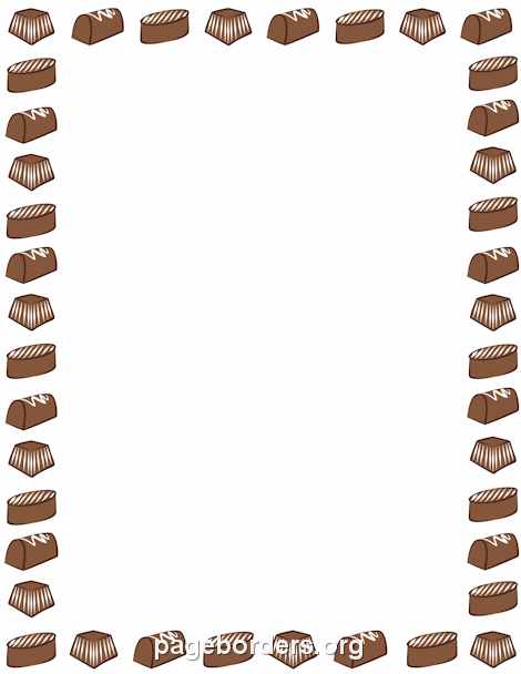 Free Food Borders Clip Art Page Borders and Vector