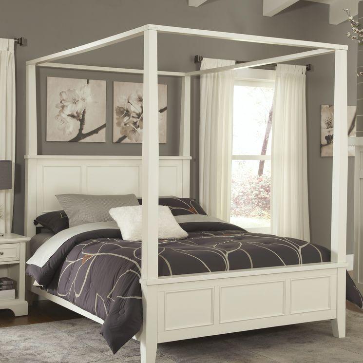 Cama con dosel napolitano #dosel #canopy #bed #bedroom #cama #blanco ...