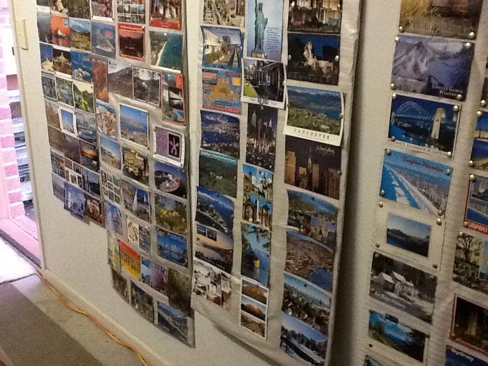 My collection of postcards Photo wall, Postcard, Photo
