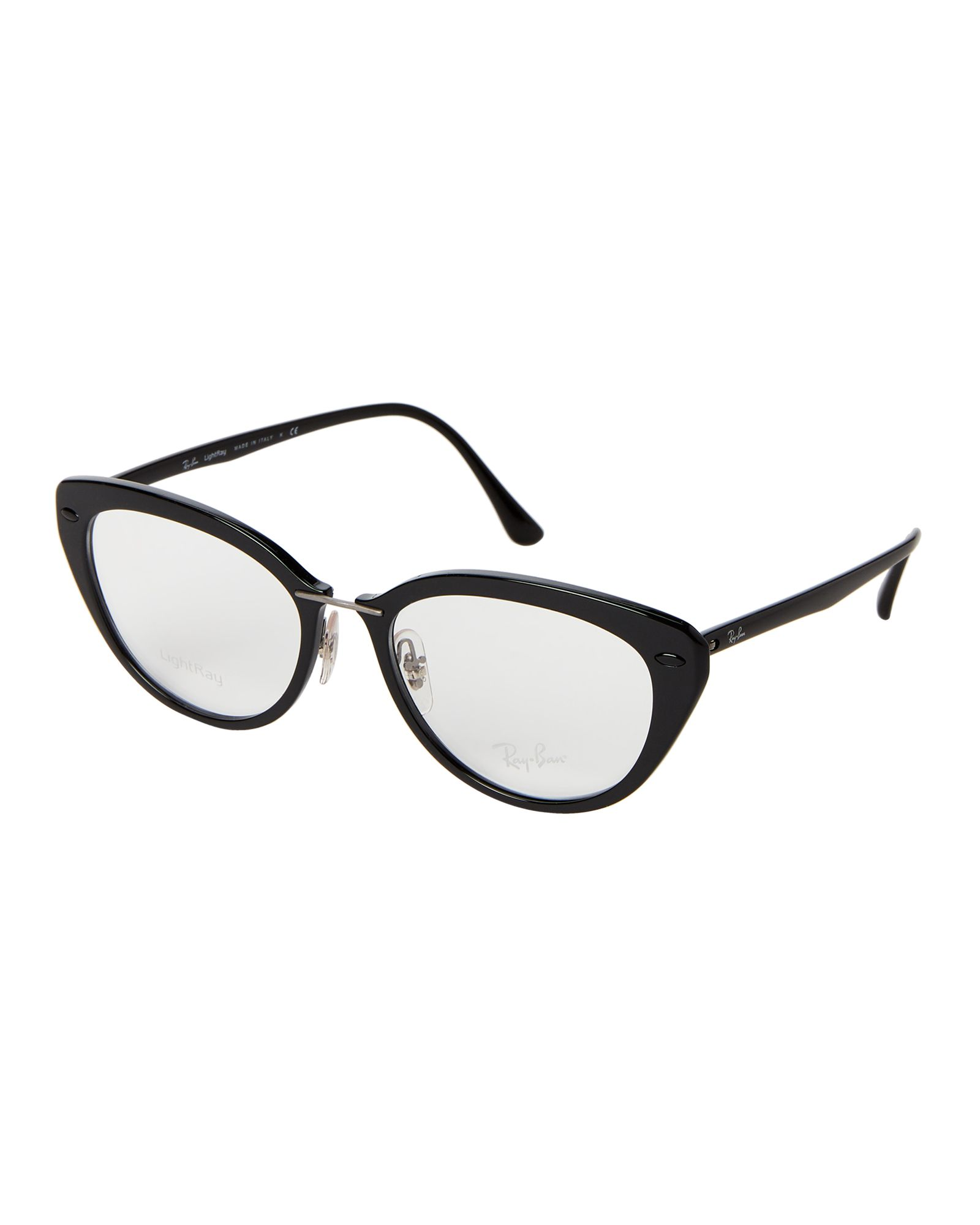 ba73a54651 RB 7088 Black Cat Eye Optical Frames in 2019