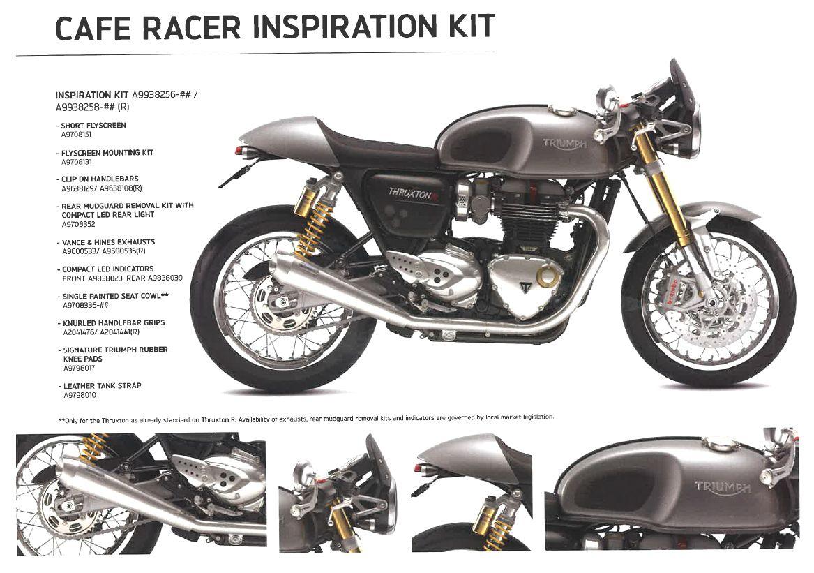 Triumph Thruxton 1200 Cafe Racer Kit | Caferacersjpg com