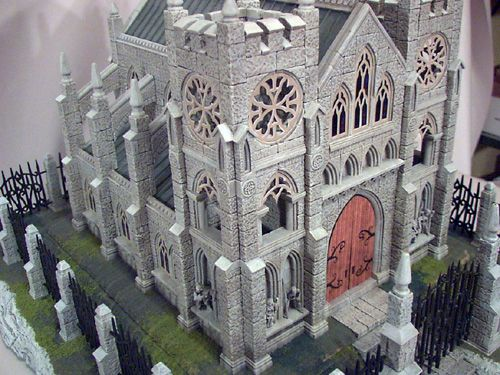 Miniature Gothic Cathedral - I hope to build this someday when I catch up with life.