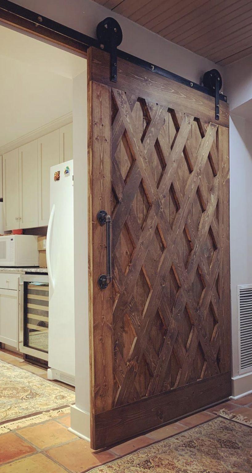 The Rustic Diamond Door Making Barn Doors Rustic Barn Door