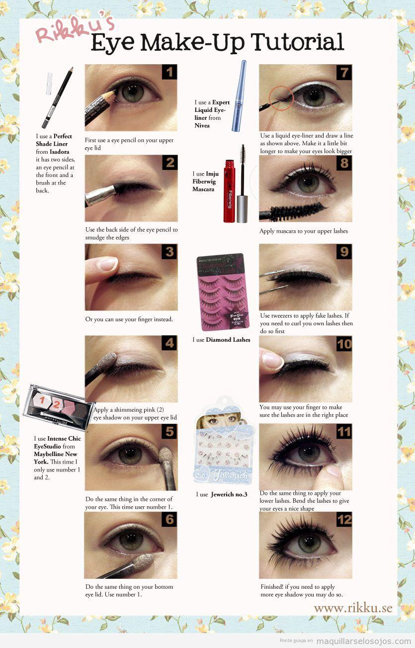 ojos achinados maquillarse los ojos todo sobre el maquillaje de ojos